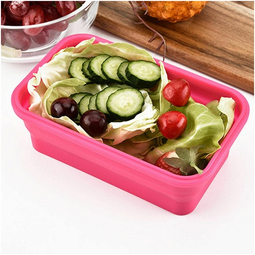 silicone lunch boxes