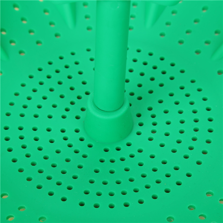 Silicone Green Fruit Basket with Many Holes Kitchen Tool