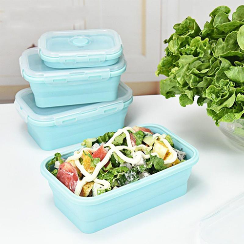collapsible silicone lunch boxes