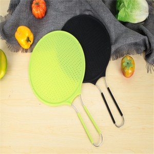 Long Handle Silicone Splatter Guard Kitchen Tool